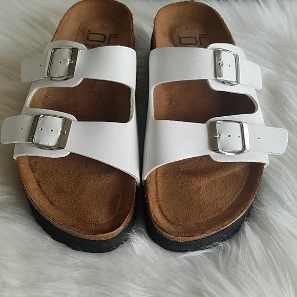 3f35db9b7190 unknown Shoes   Platform Birkenstock Inspired Sandals   Poshmark